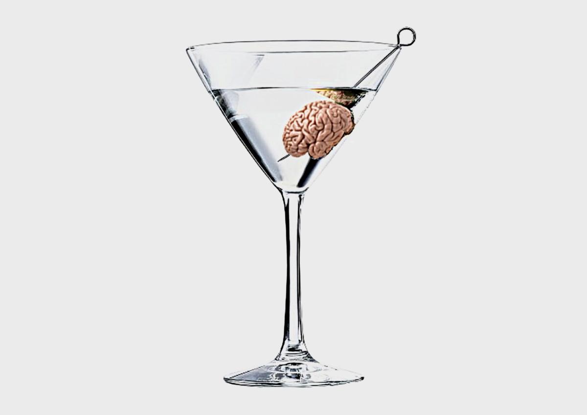 мозгу вредят даже небольшие дозы алкоголя