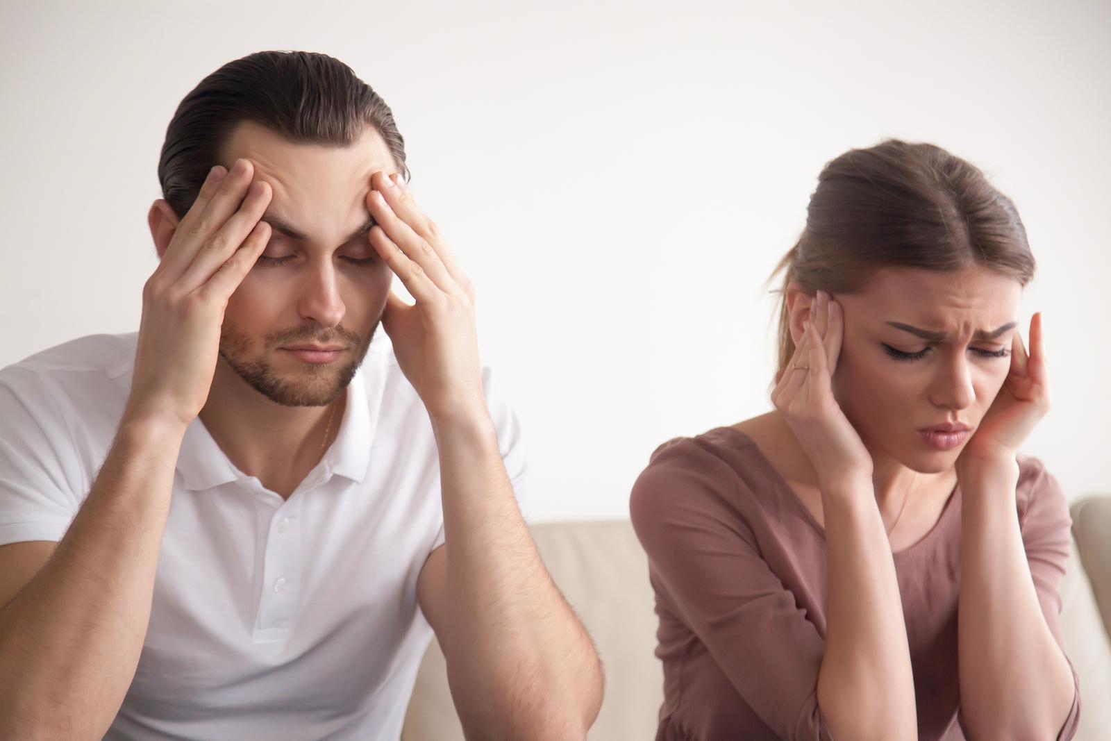 Отсутствие сна и размолвка с супругой могут сказаться на здоровье