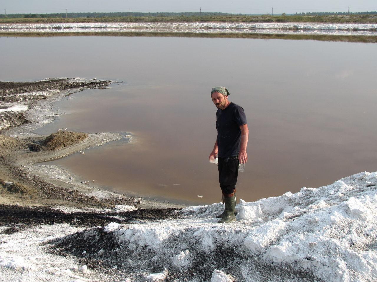 Микробы из сибирского озера любят соль и производят метан