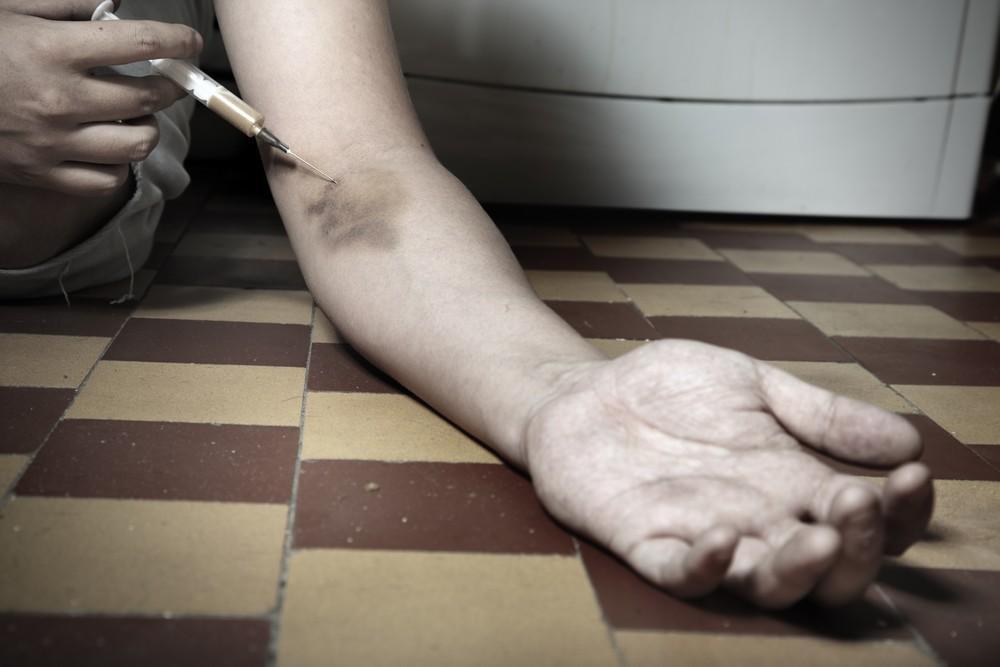 в Европе продолжает расти смертность от передозировки наркотиками