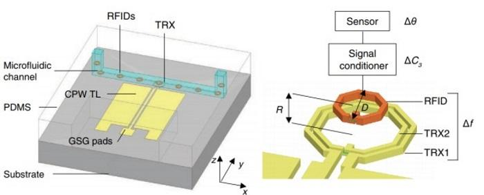 для клетки сделали RFID-метки