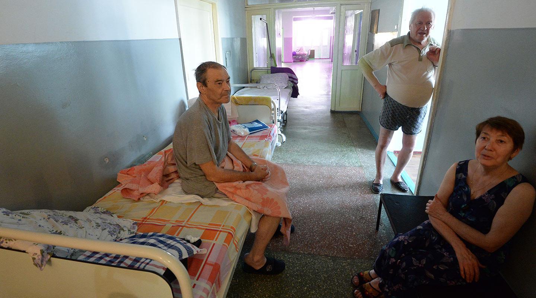 Количество мест в российских больницах сократилось в 2016 году на 23 тысячи