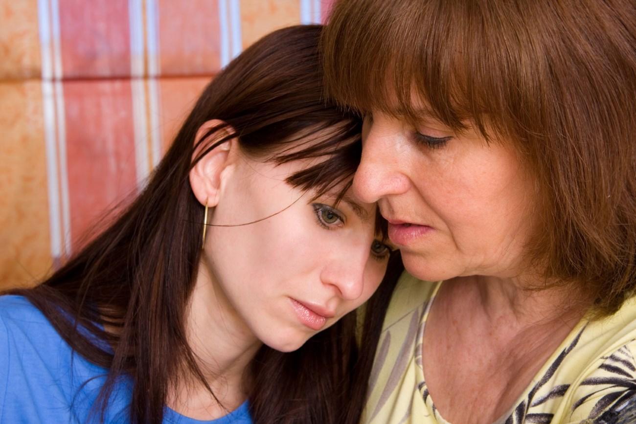 женщины получают депрессию от матерей