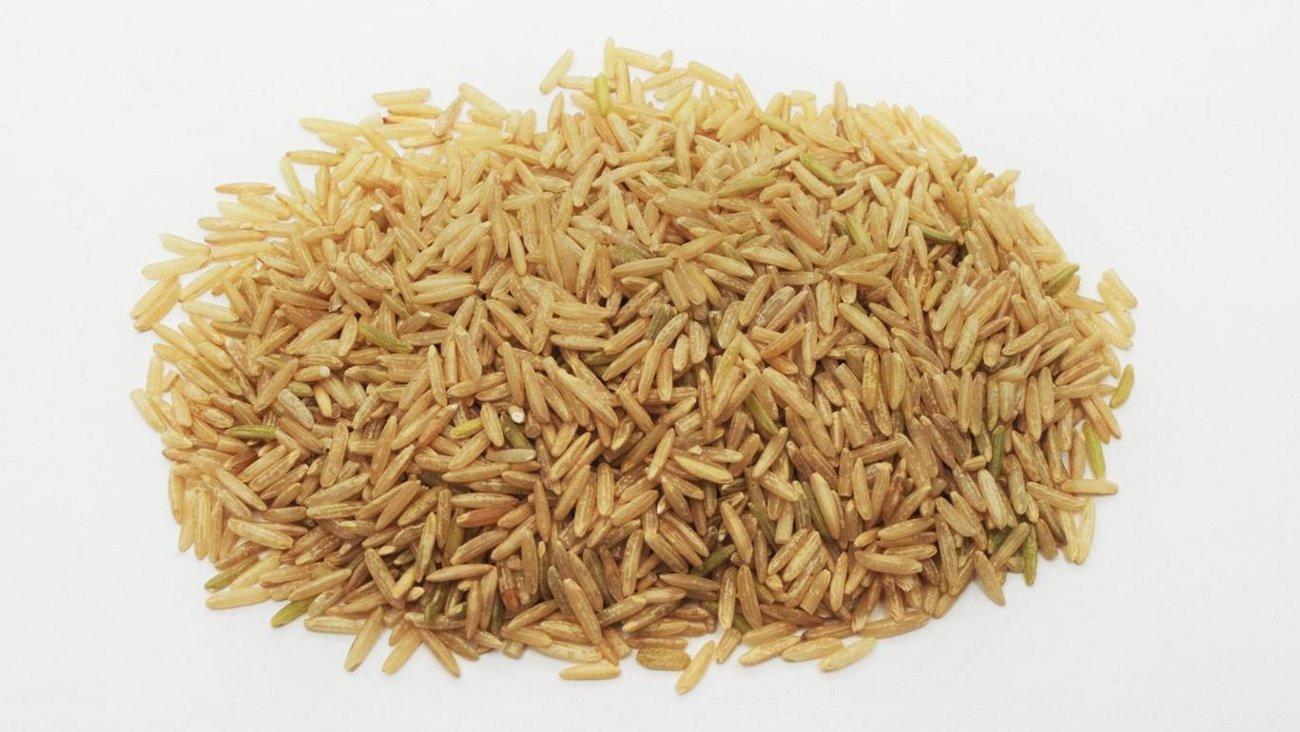 Коричневый рис басмати