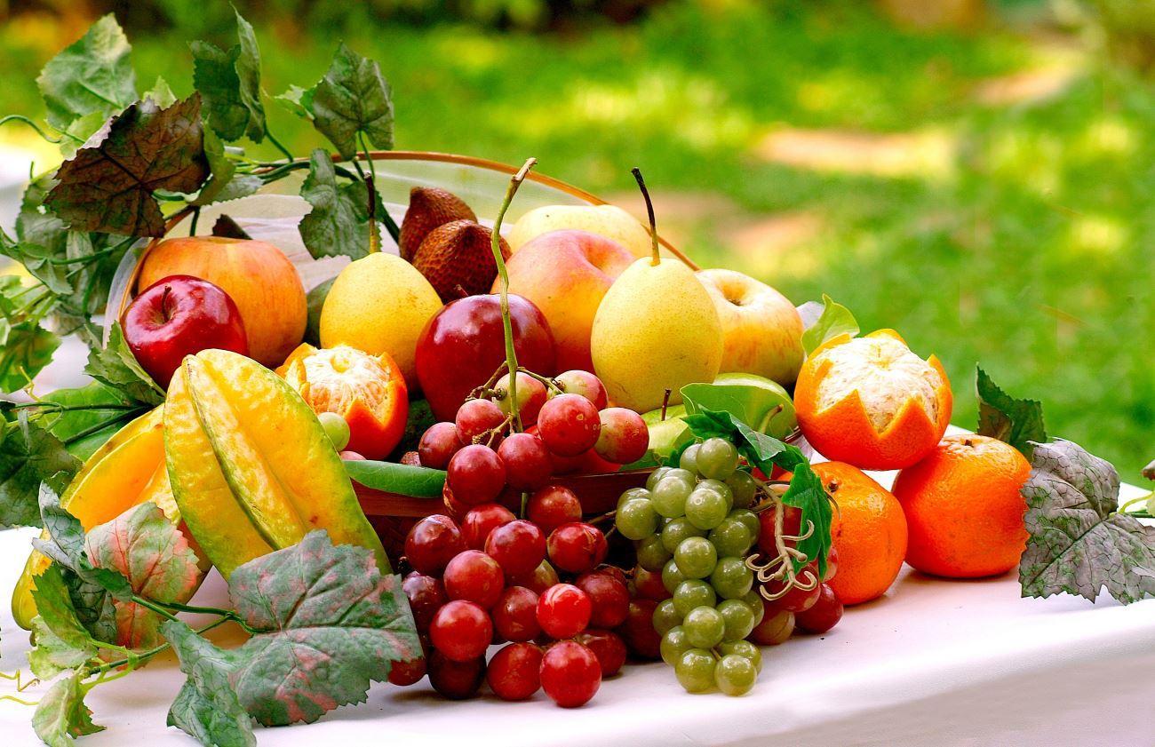 Недостаток овощей и фруктов в диете