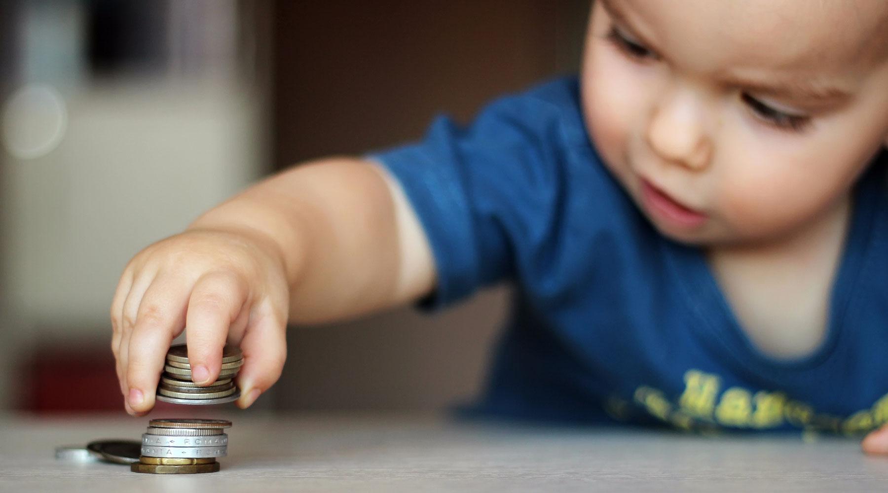 Маленькие дети знают свою выгоду