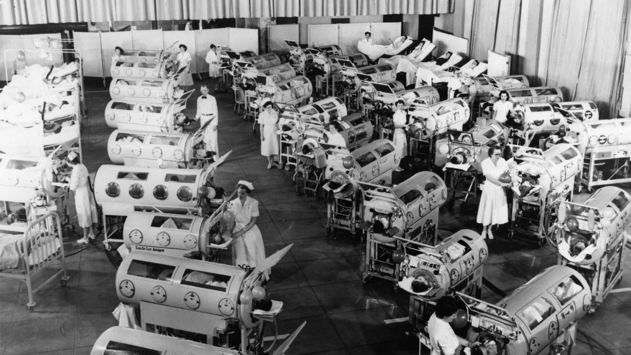 над пропастью полиомиелита
