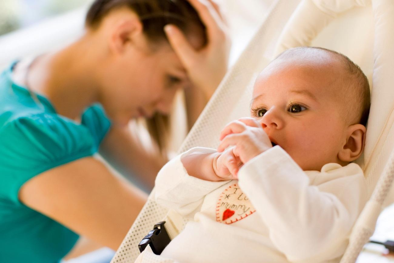 депрессия первого года жизни ребенка