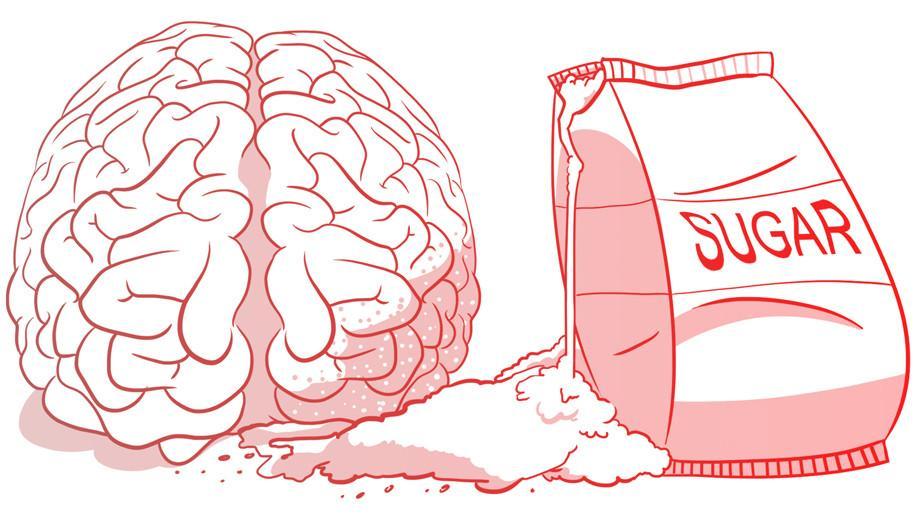 глюкоза в крови на верхней границе нормы ускоряет атрофию мозга