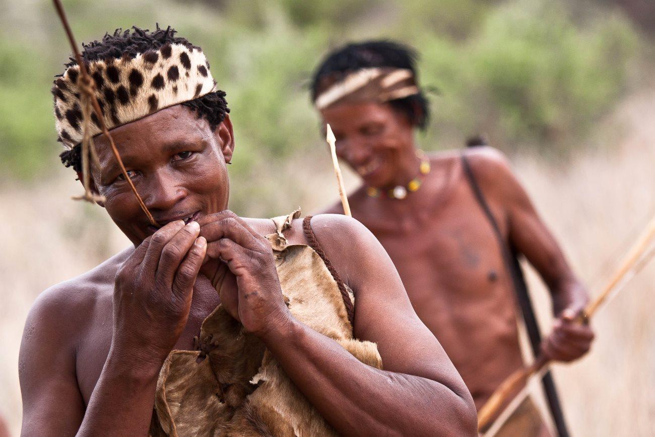 гены светлой кожи появились в Африке