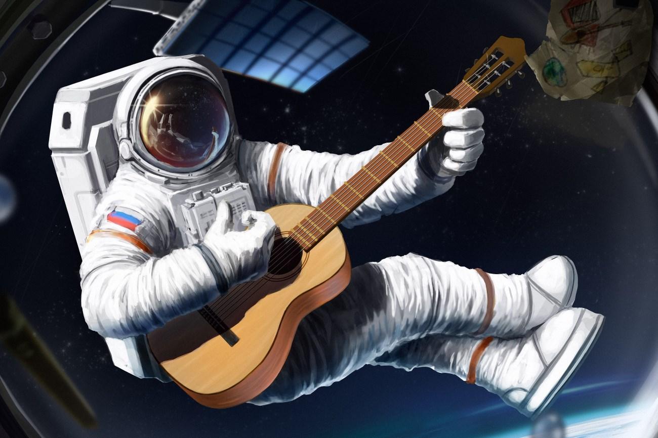 что происходит с мозгом астронавта
