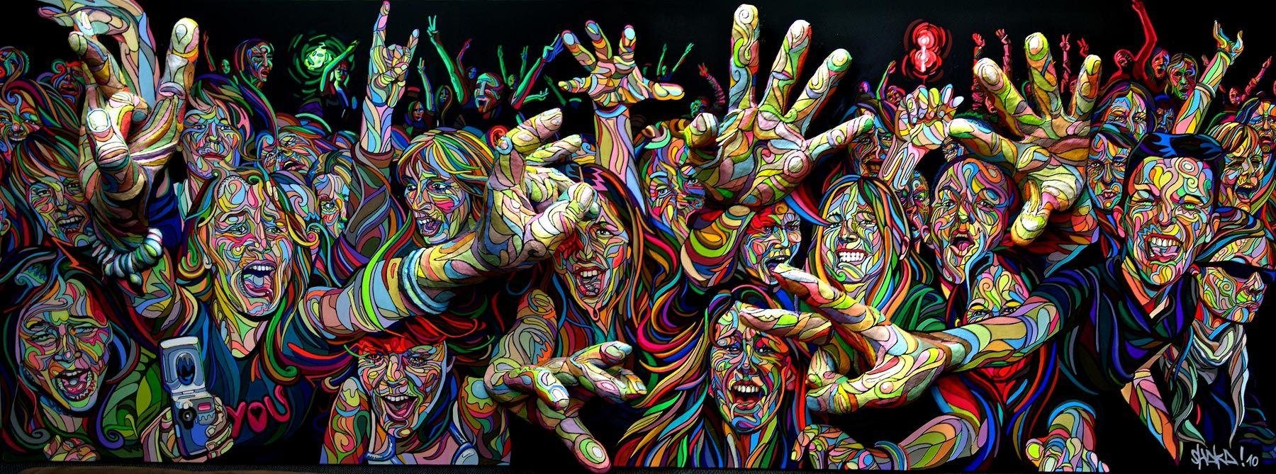 Стимуляция мозга заставила пациента с эпилепсией видеть лица и радугу