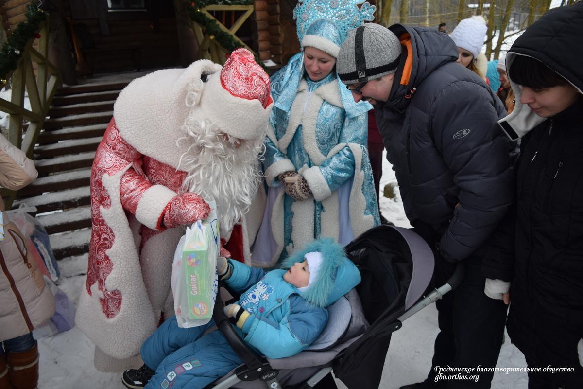 Благотворительная акция «Рождественское чудо»