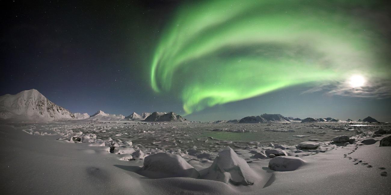 Микробы из Антарктиды питаются воздухом