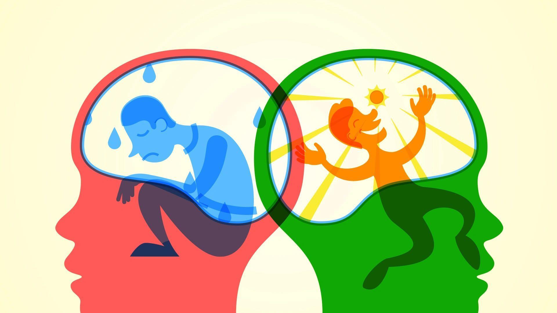 Биполярное аффективное расстройство заняло новое место в мозге