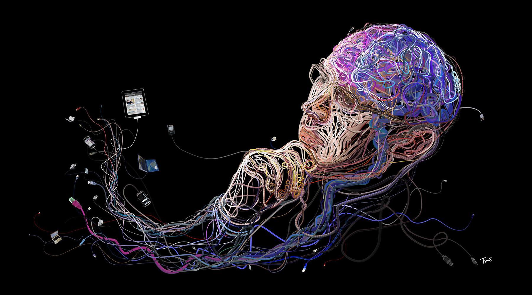 Мозг человека может вместить всю информацию Интернета