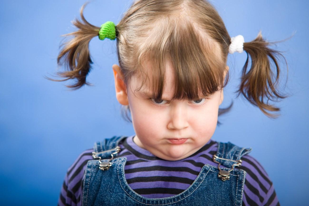 Обиженный ребенок прикольное фото