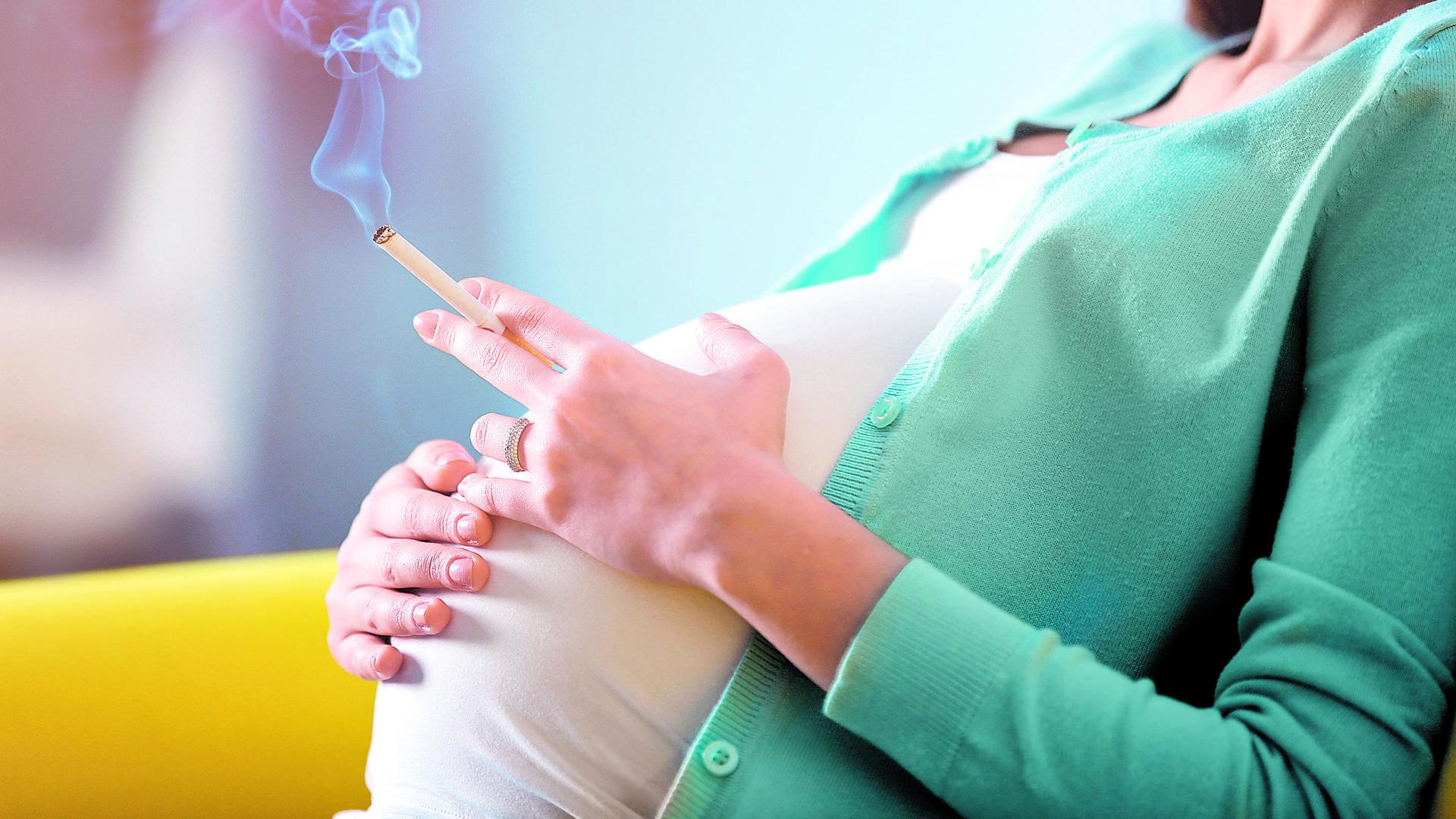 Курение плюс беременность равно шизофрения?