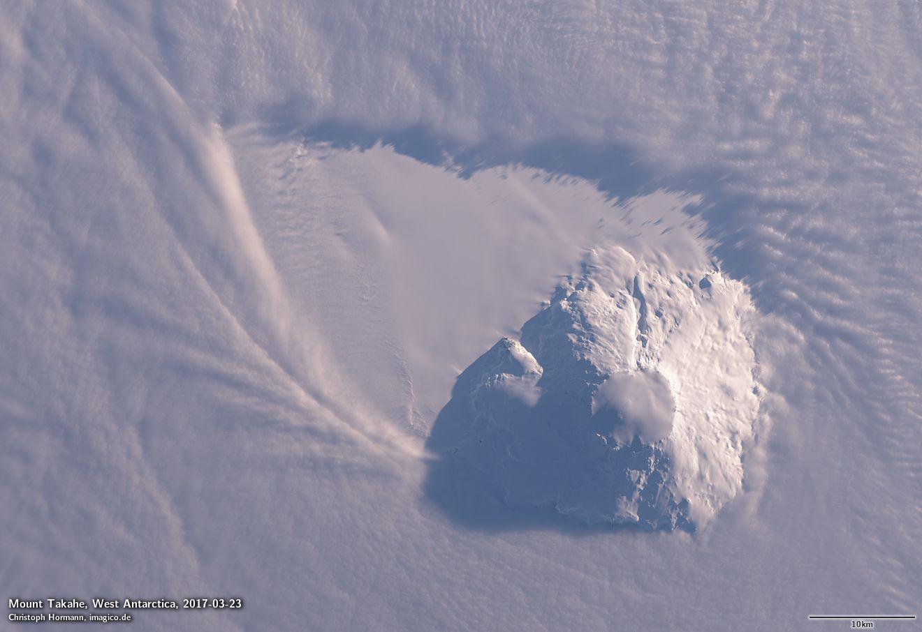Извержение в Антарктиде 17 тысяч лет назад привело к резкому потеплению в Южном полушарии