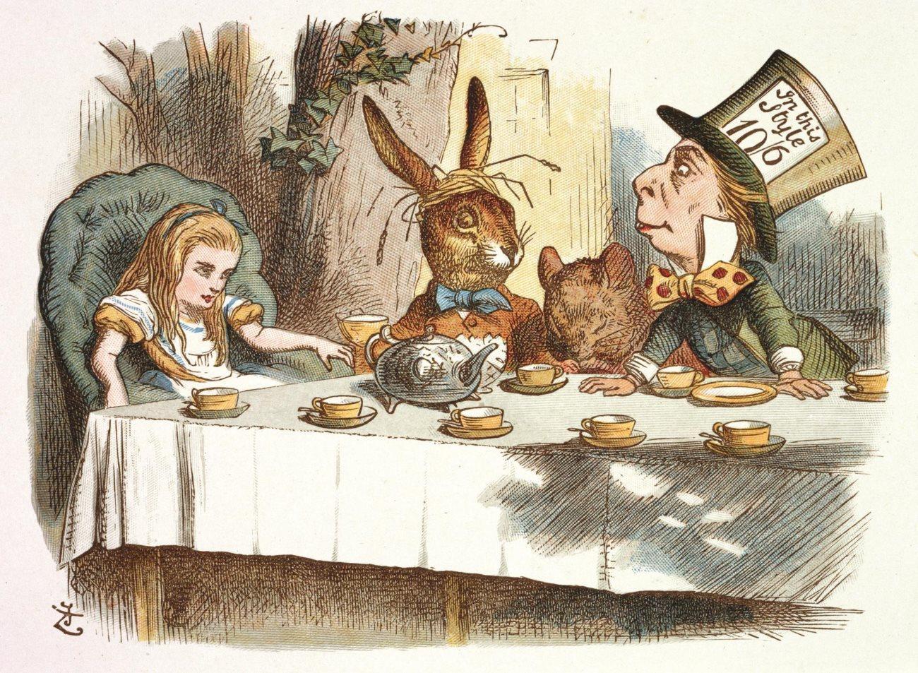 «Алиса в стране чудес» глазами невролога