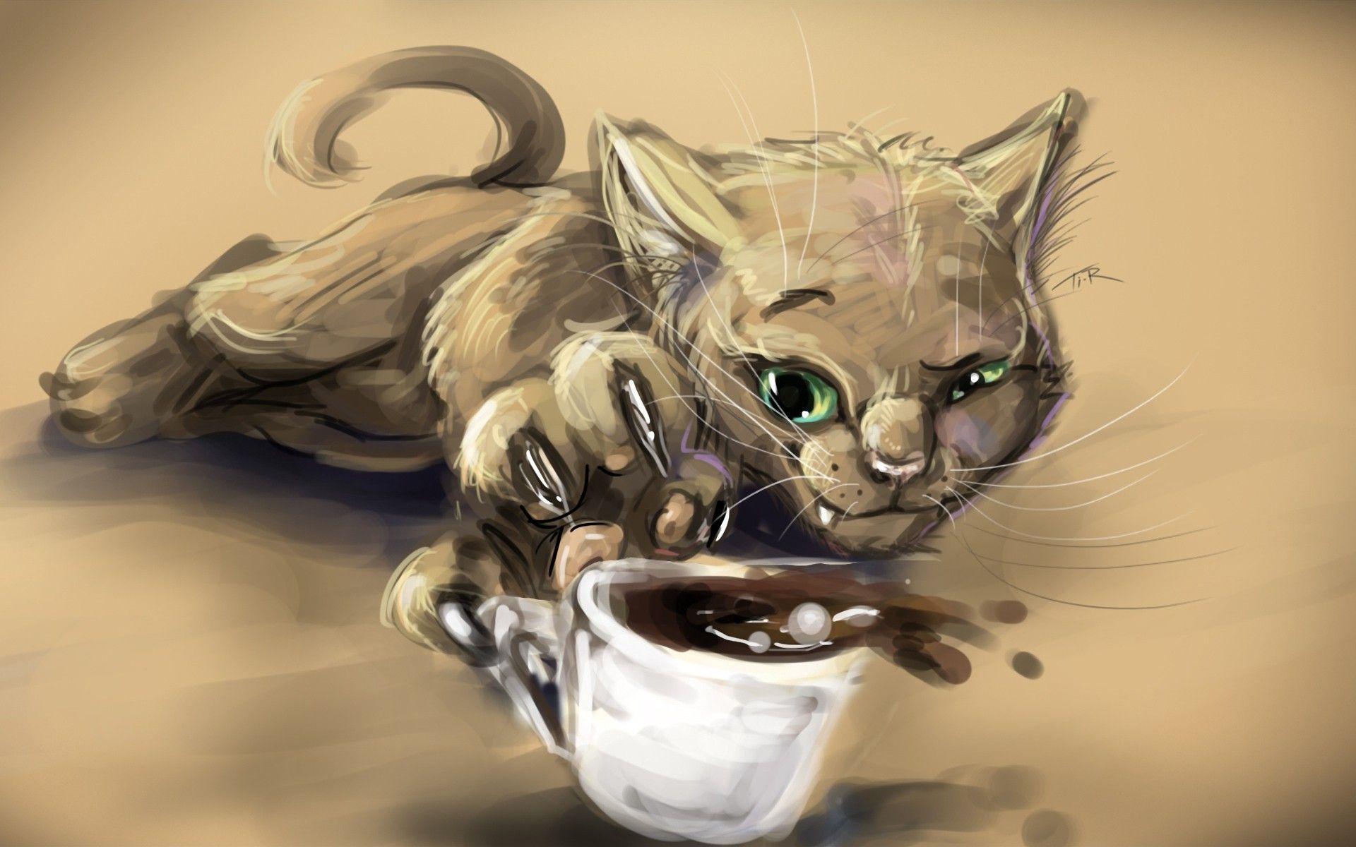 Чашка кофе уменьшила сладость сладкого