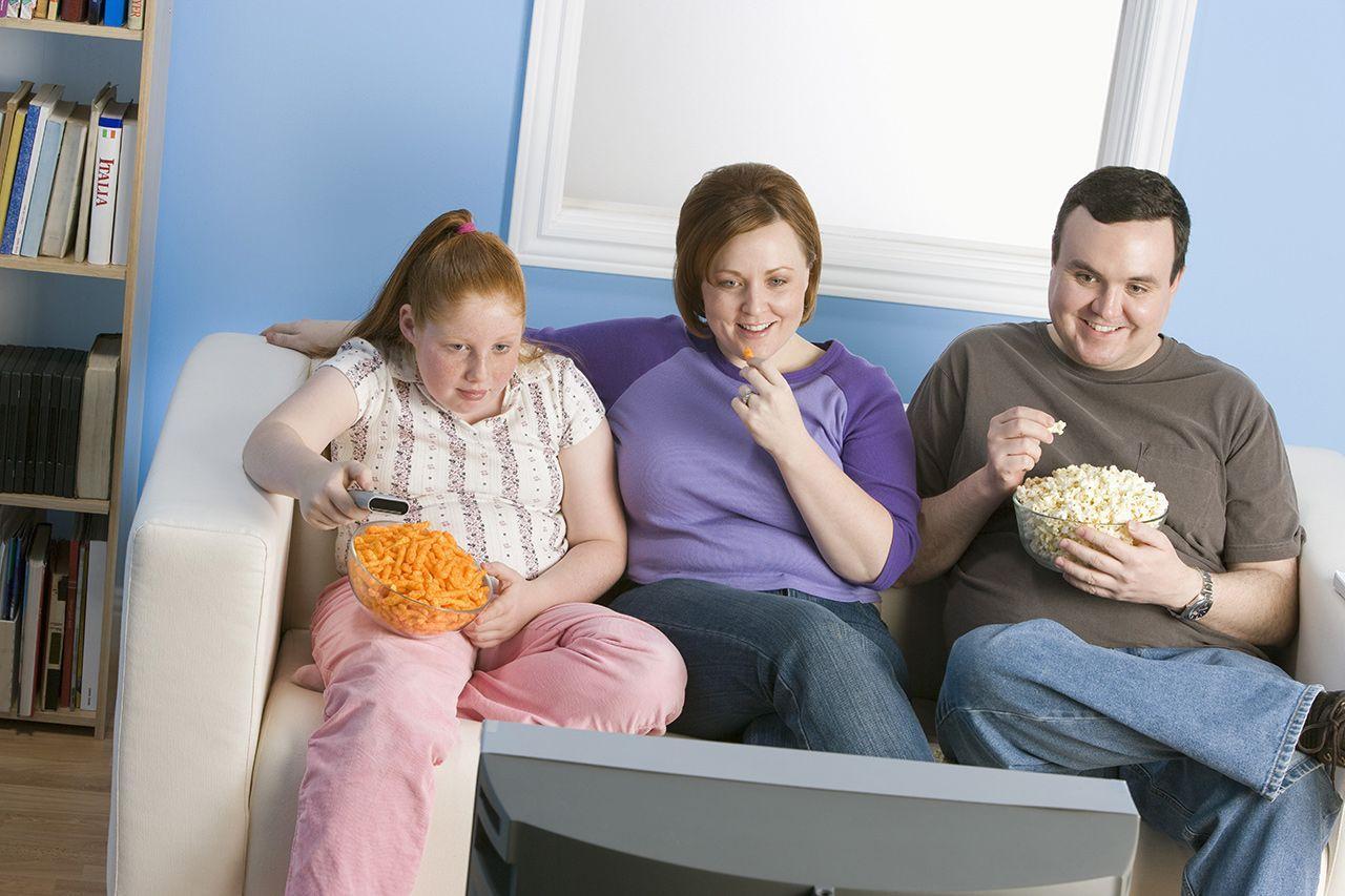 Ожирение оказалось социально заразным