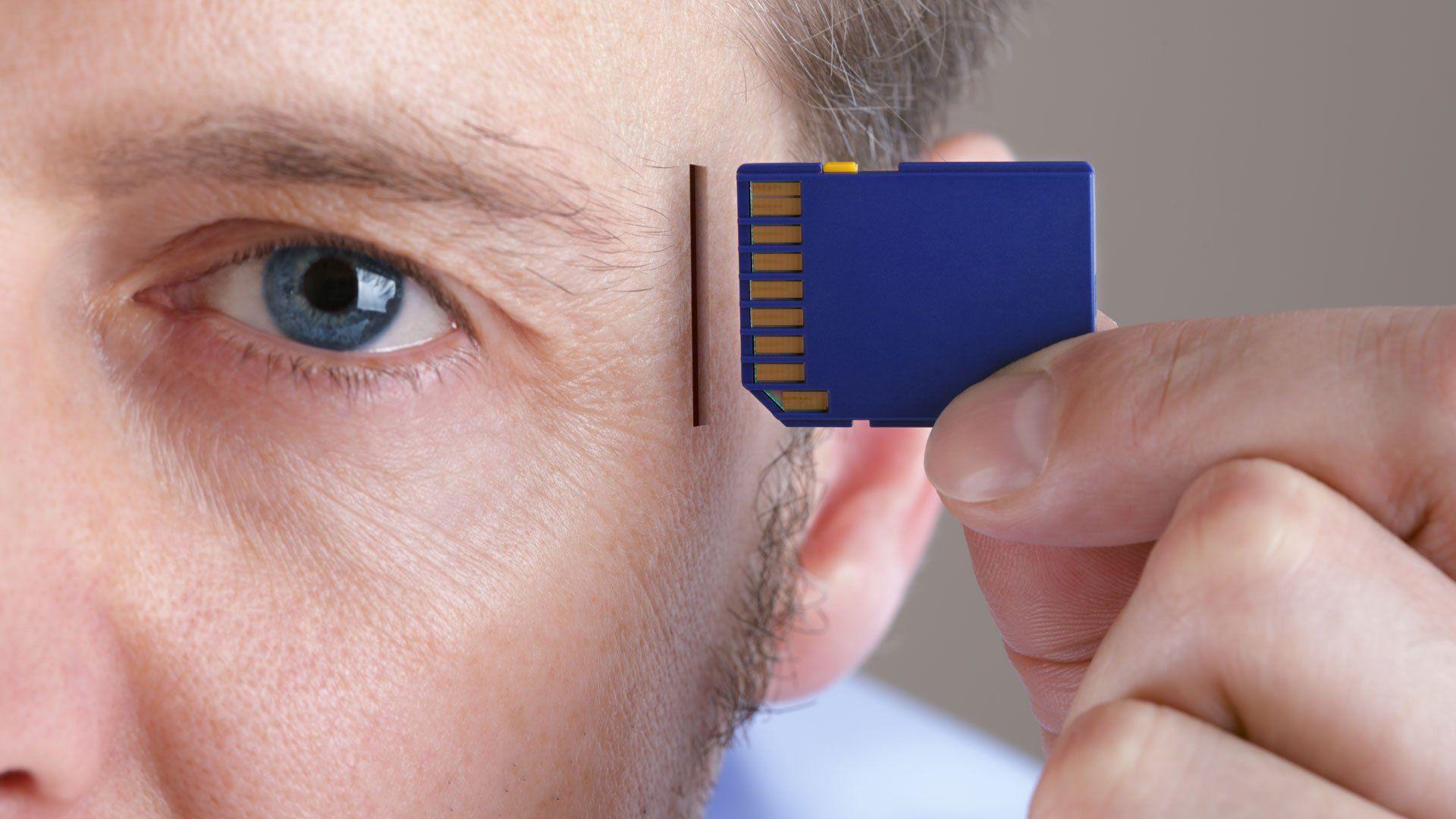 Человеческую память улучшили снаружи