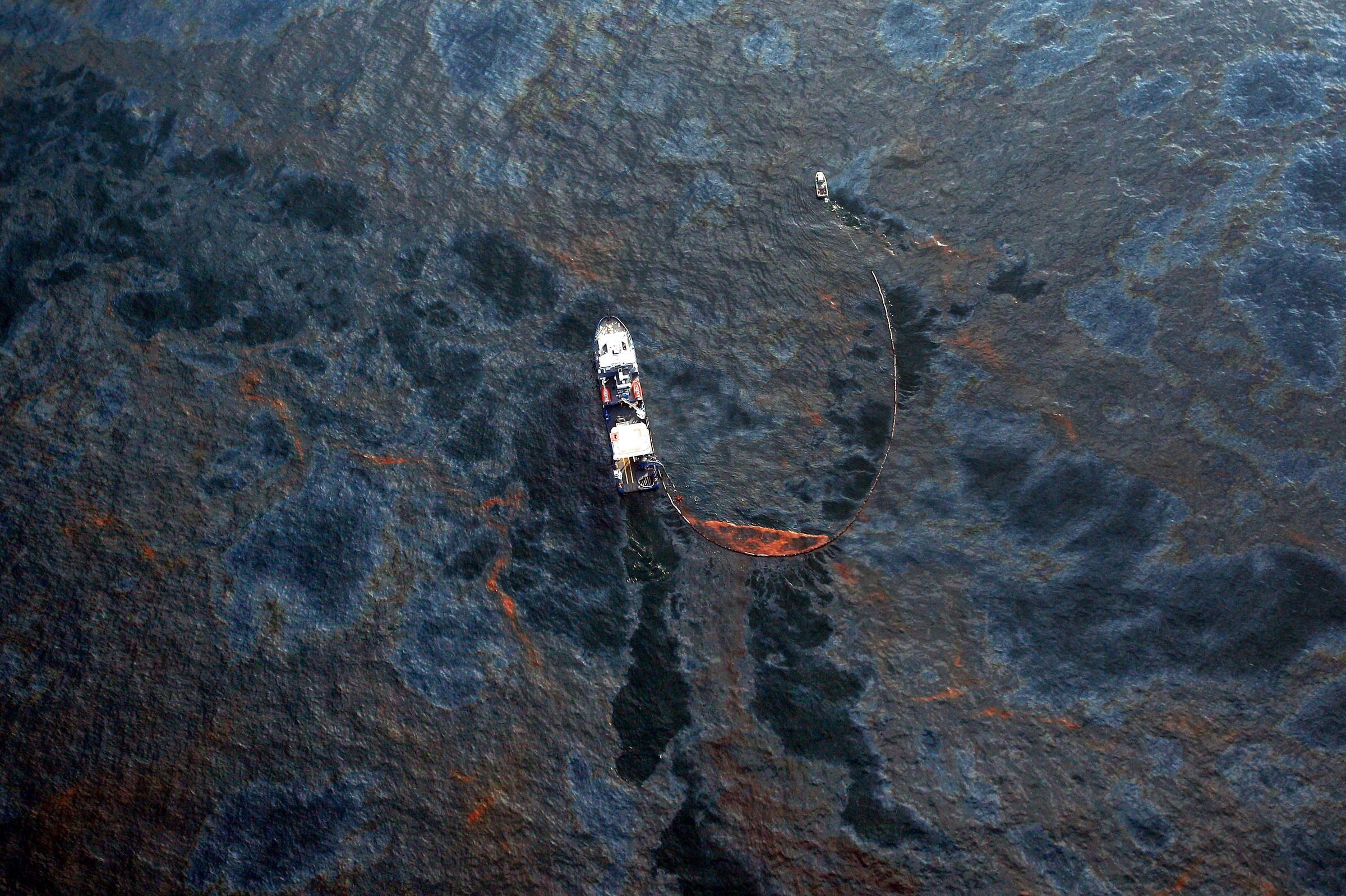 Вечно голодную бактерию натравили на разливы нефти