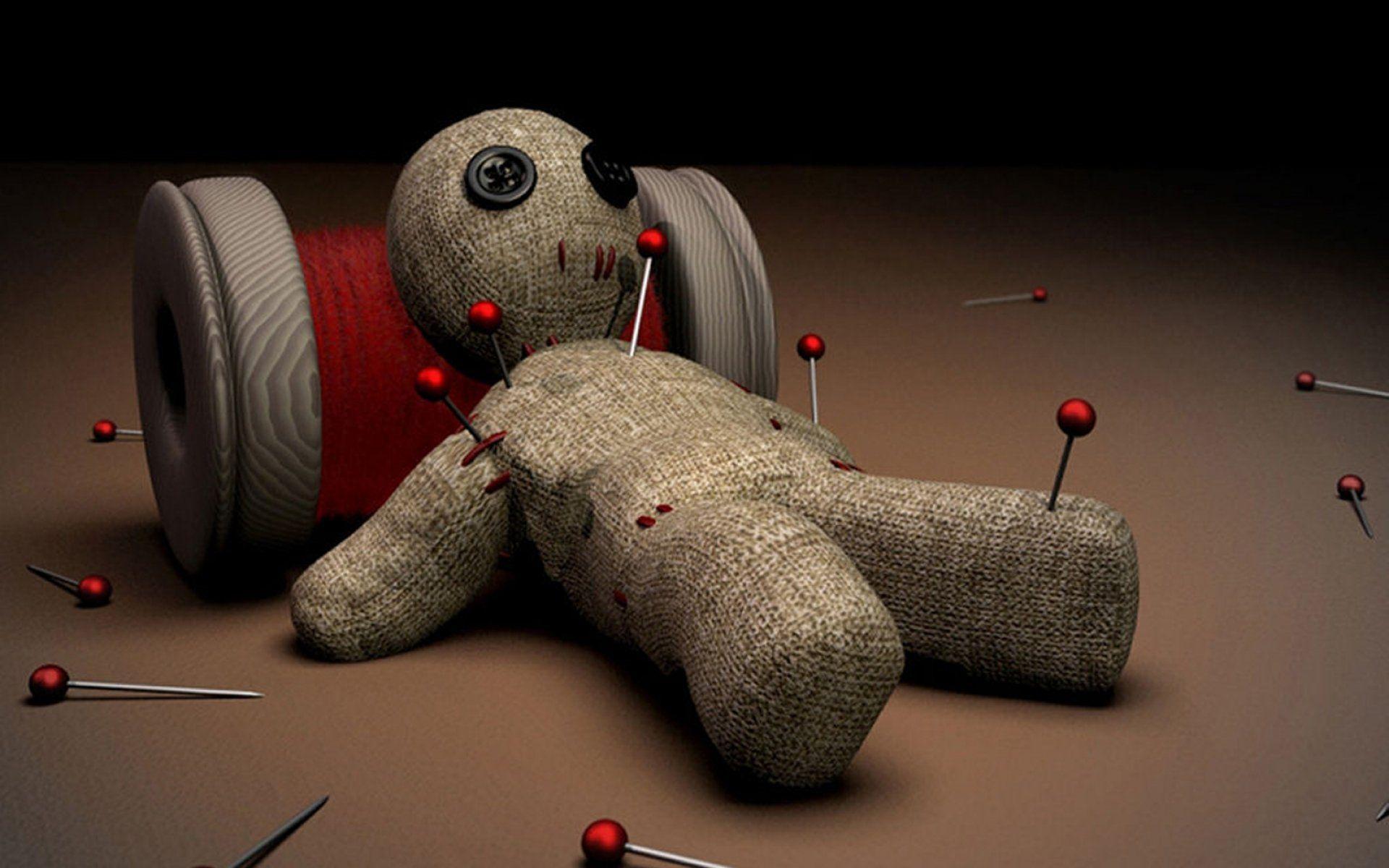 Кукла вуду начальника помогает снять стресс