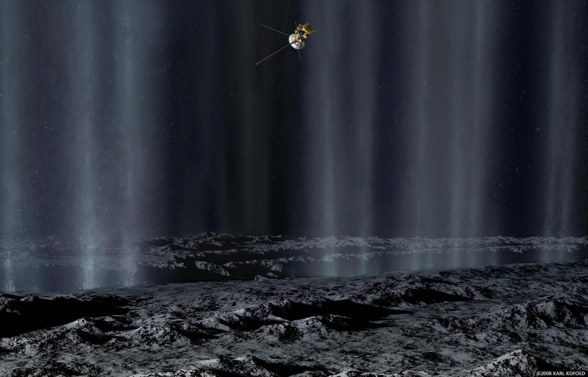 Сколько воды нужно для жизни где-нибудь еще в Солнечной системе