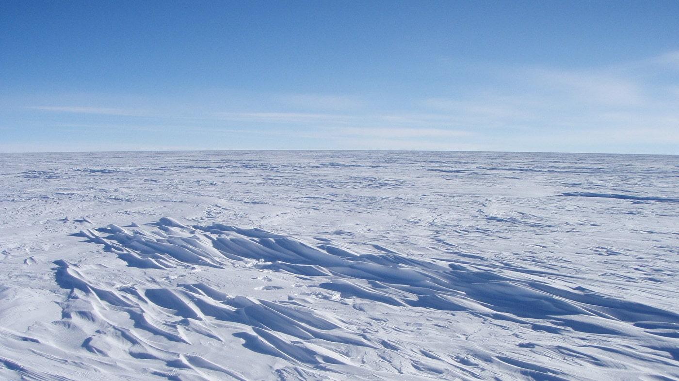 Зафиксирована рекордно низкая температура на Земле