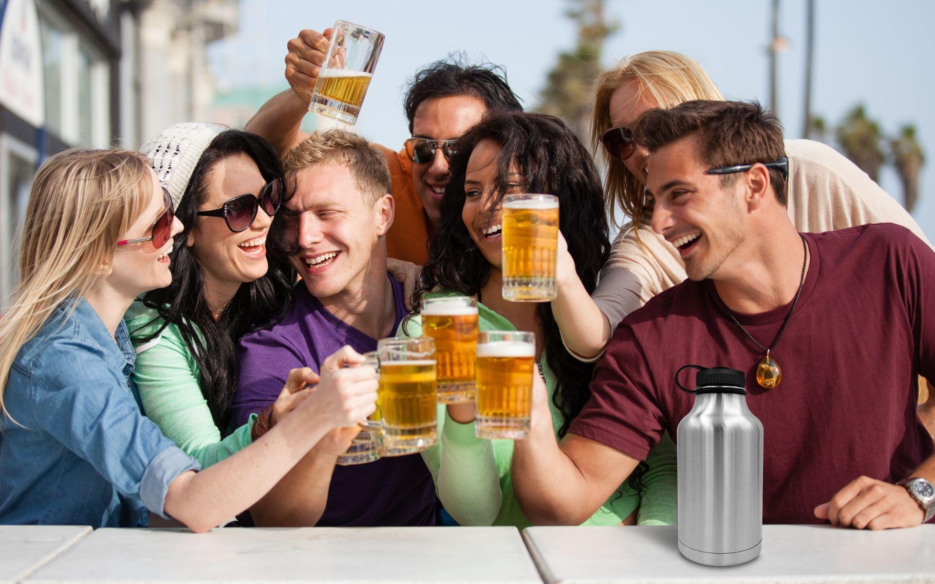 Непьющие люди чаще берут больничный, чем пьющие умеренно