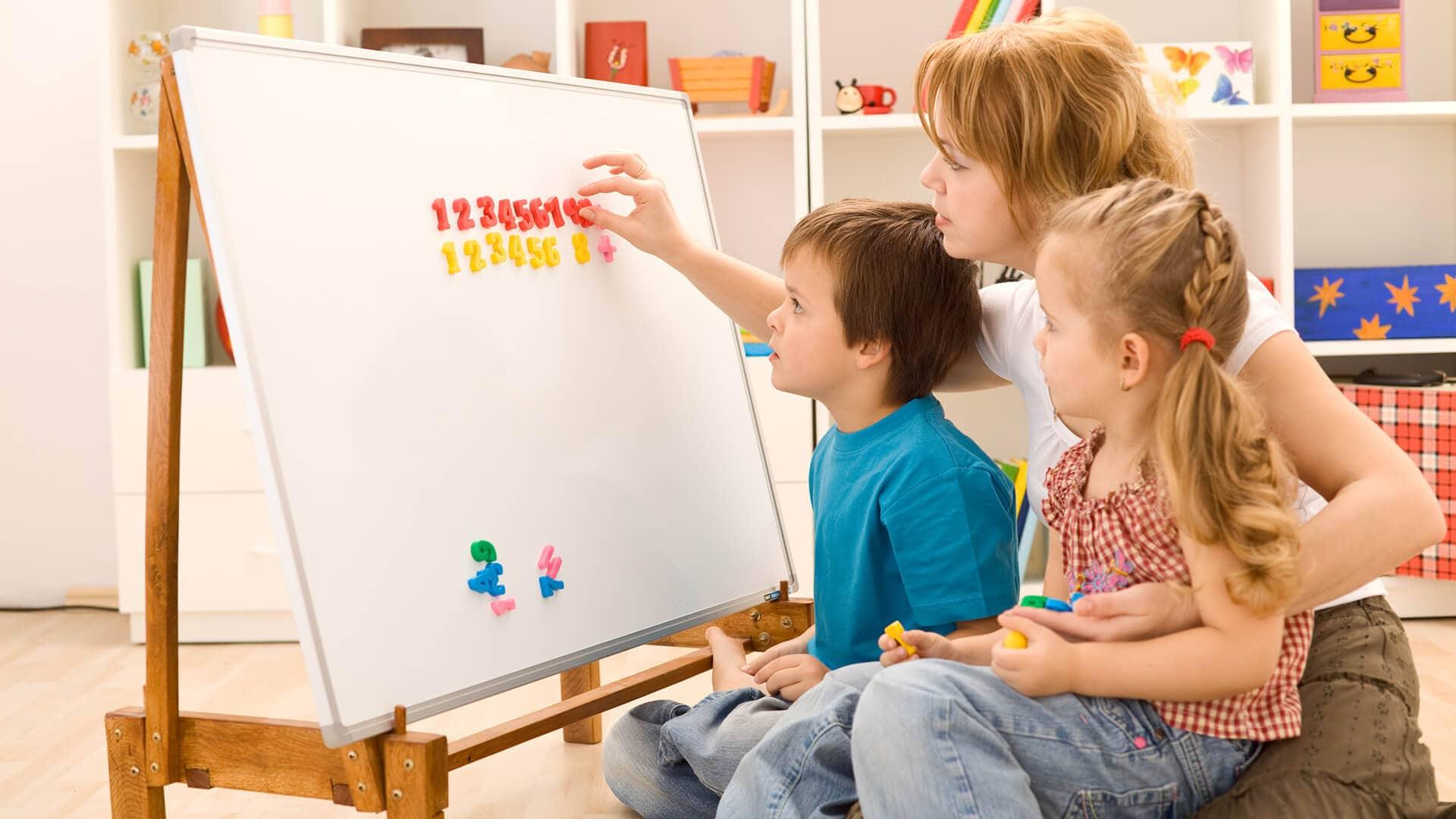 Математика дома улучшила языковые способности