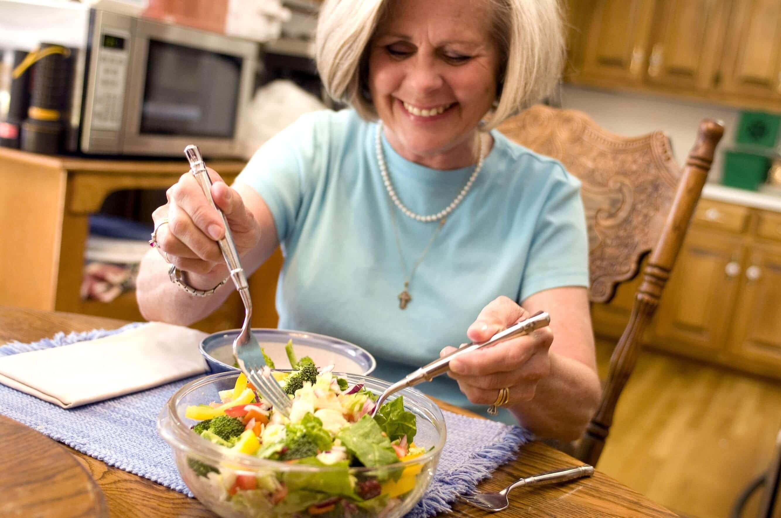 Диета способствующая здоровому старению женщин