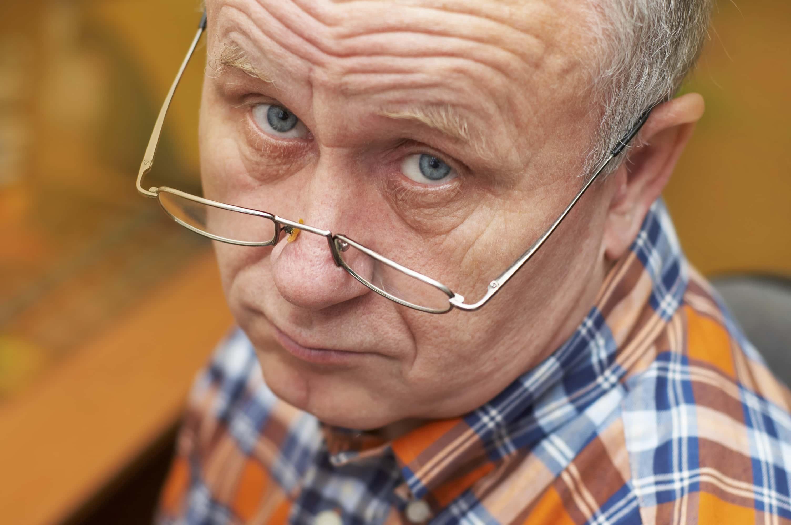 Пожилые люди оказались менее склонны к осознанию своих ошибок