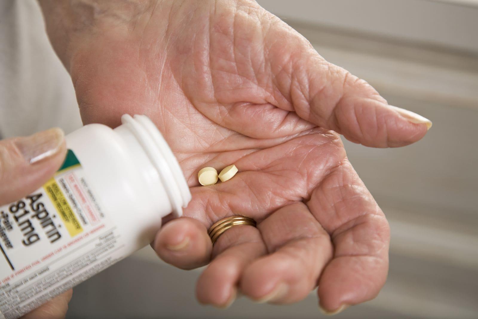 Возможно, «сердечники» получают неправильную дозу аспирина