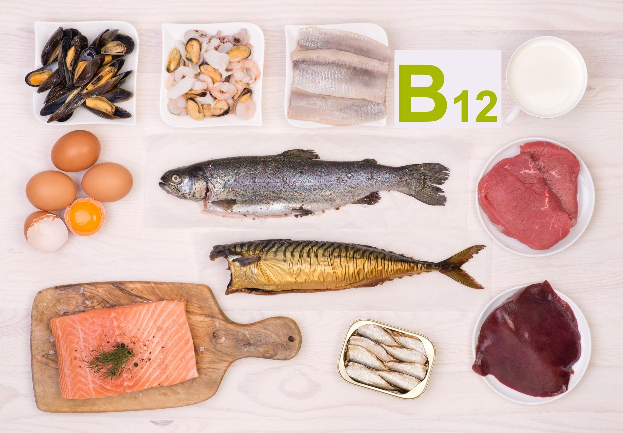 Продукты, которые помогут избежать дефицита витамина В12