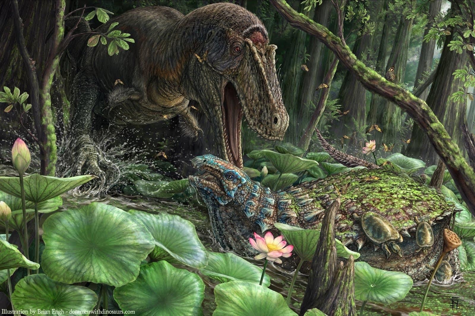 Палеонтологи описали «могучего и ужасного правителя» из семейства тираннозаврид