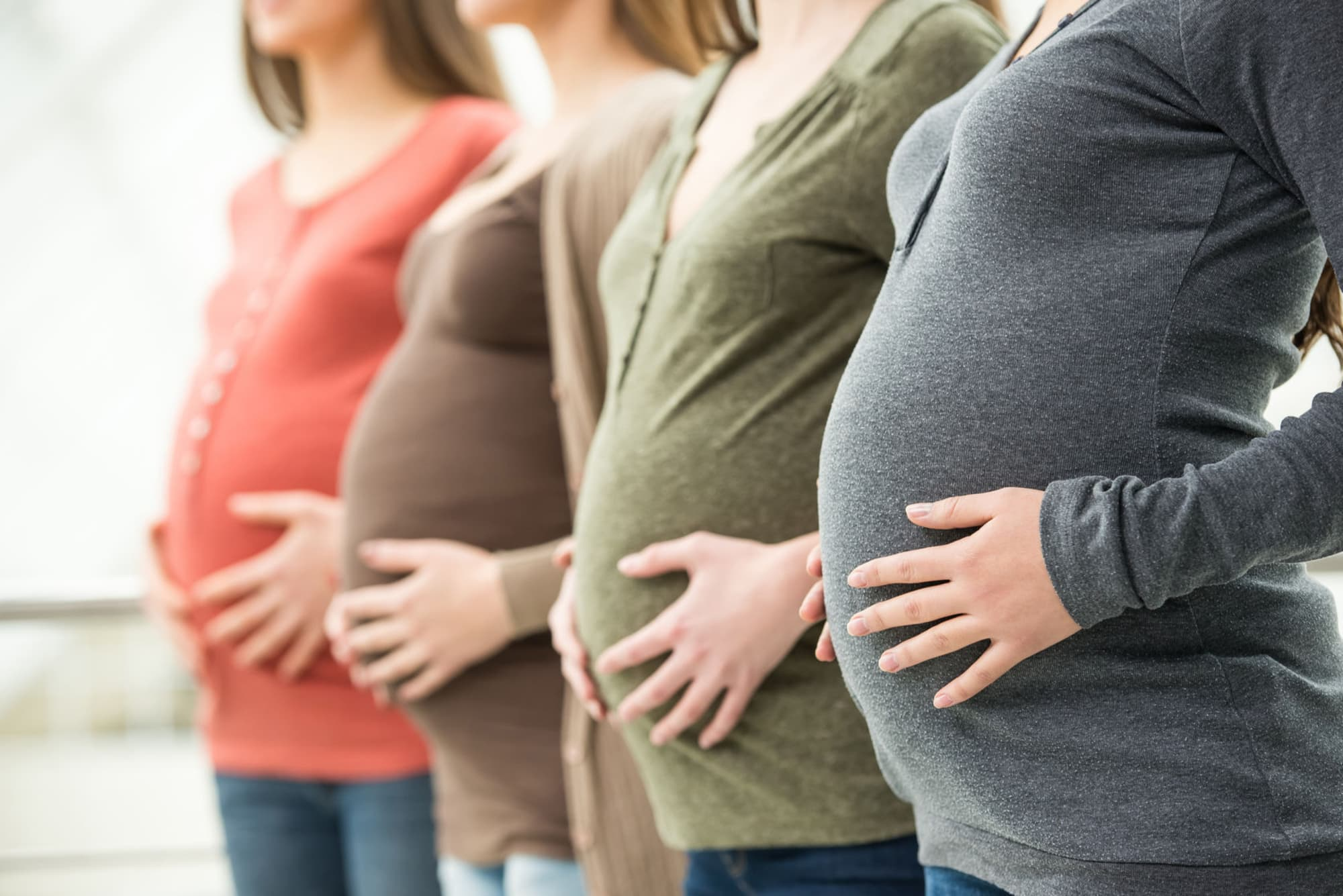Беременность девушки в картинках