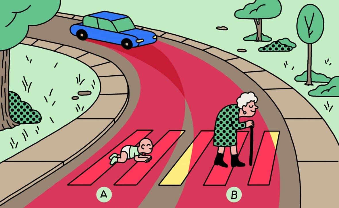 Культурные различия повлияли на решение проблемы вагонетки для автопилота