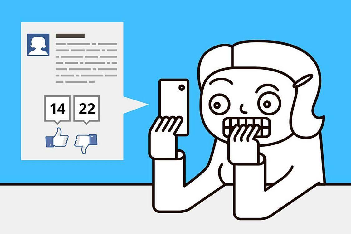 Большое количество «друзей» в Facebook связали со стрессом