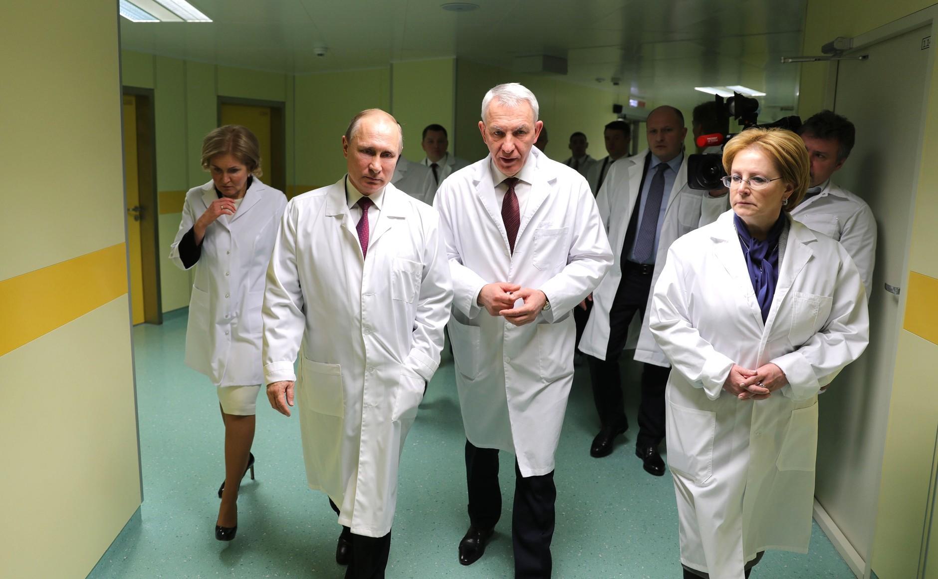 Постройка «национальной пациентоориентированной системы здравоохранения» откладывается