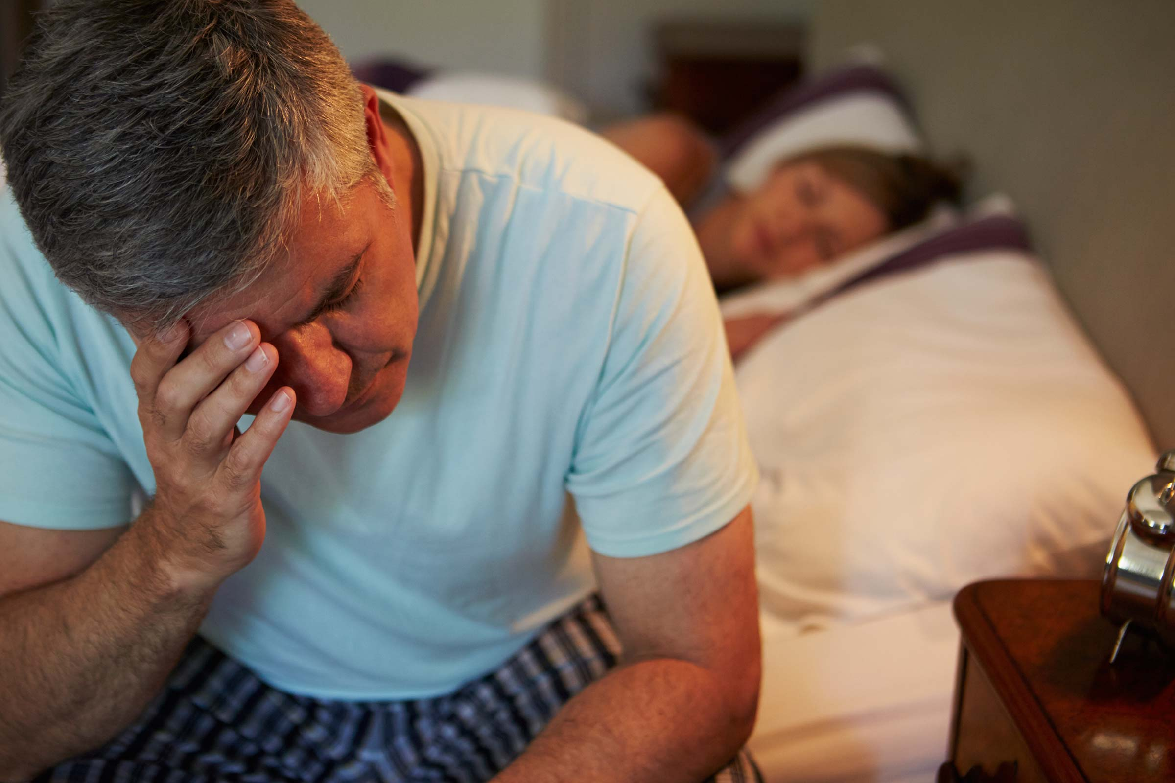 Недосып повысил чувствительность к боли