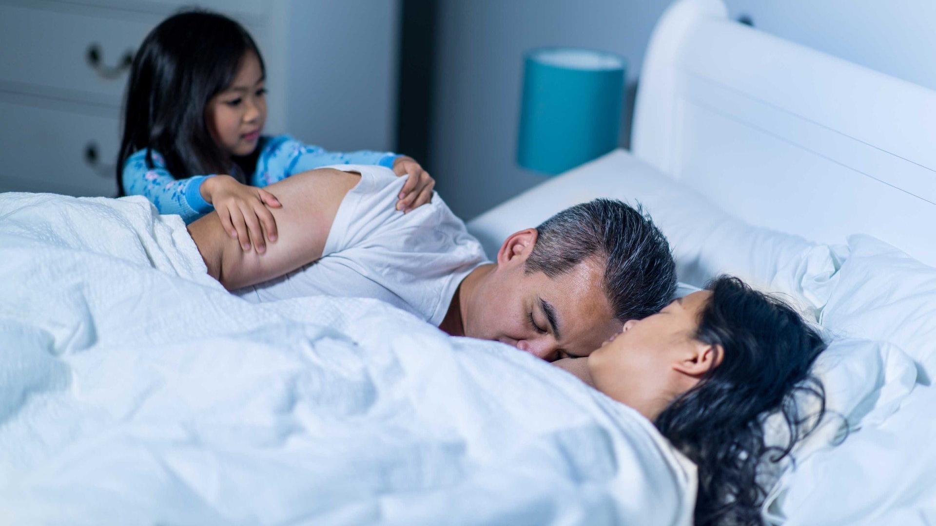 Рождение первенца обрекло родителей на шесть лет плохого сна