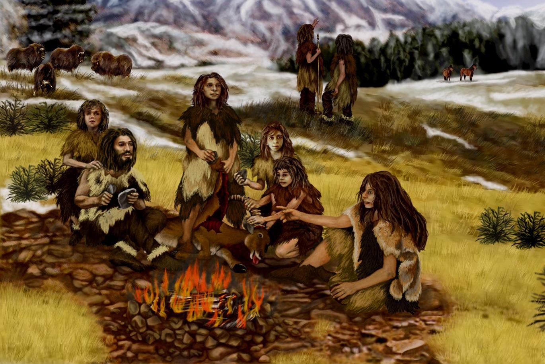 Изменение климата склонило южно-европейских неандертальцев к каннибализму