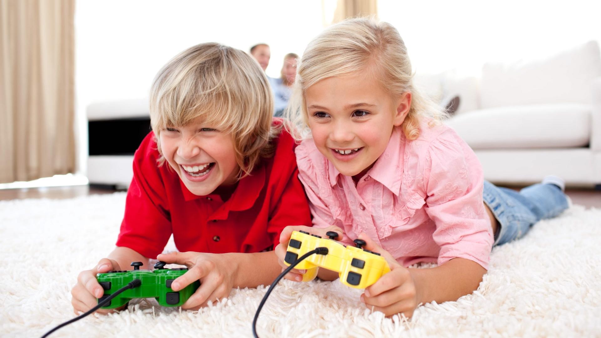 Видеоигры не влияют на мальчиков