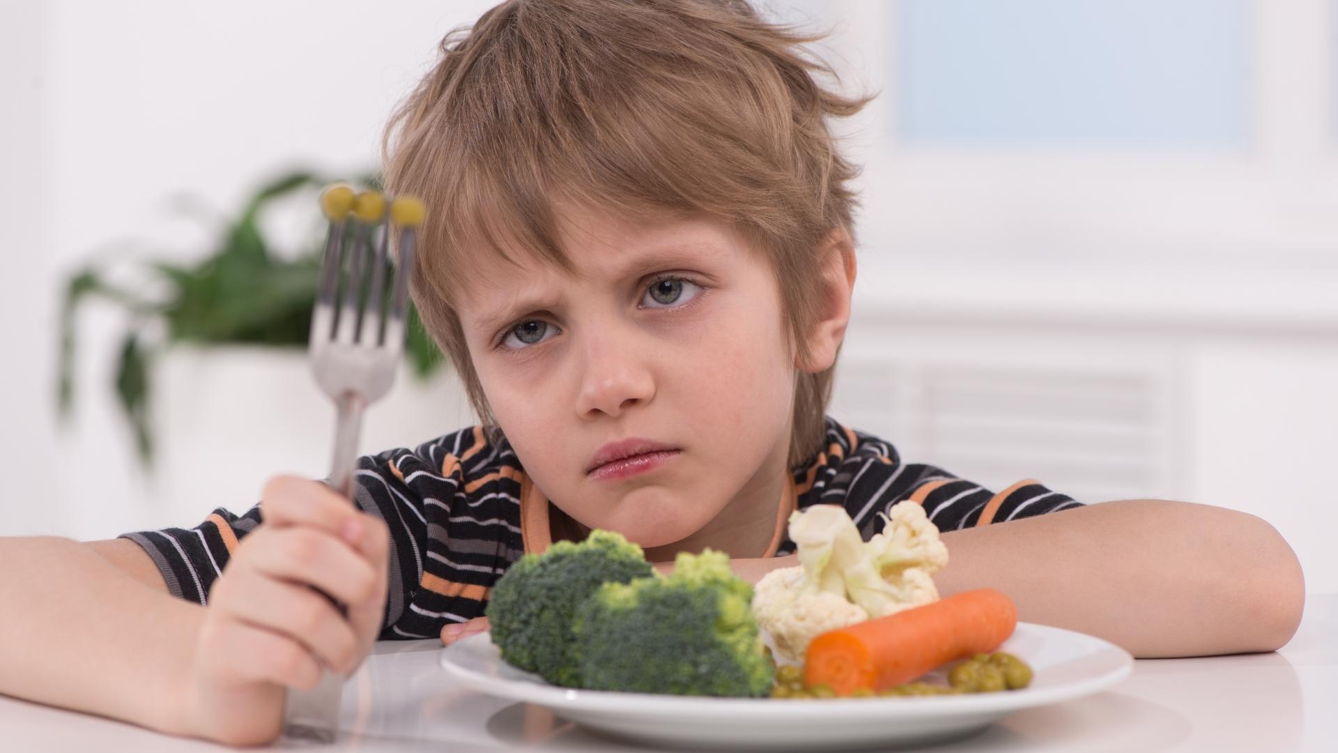 Как можно приучить детей к здоровой пище