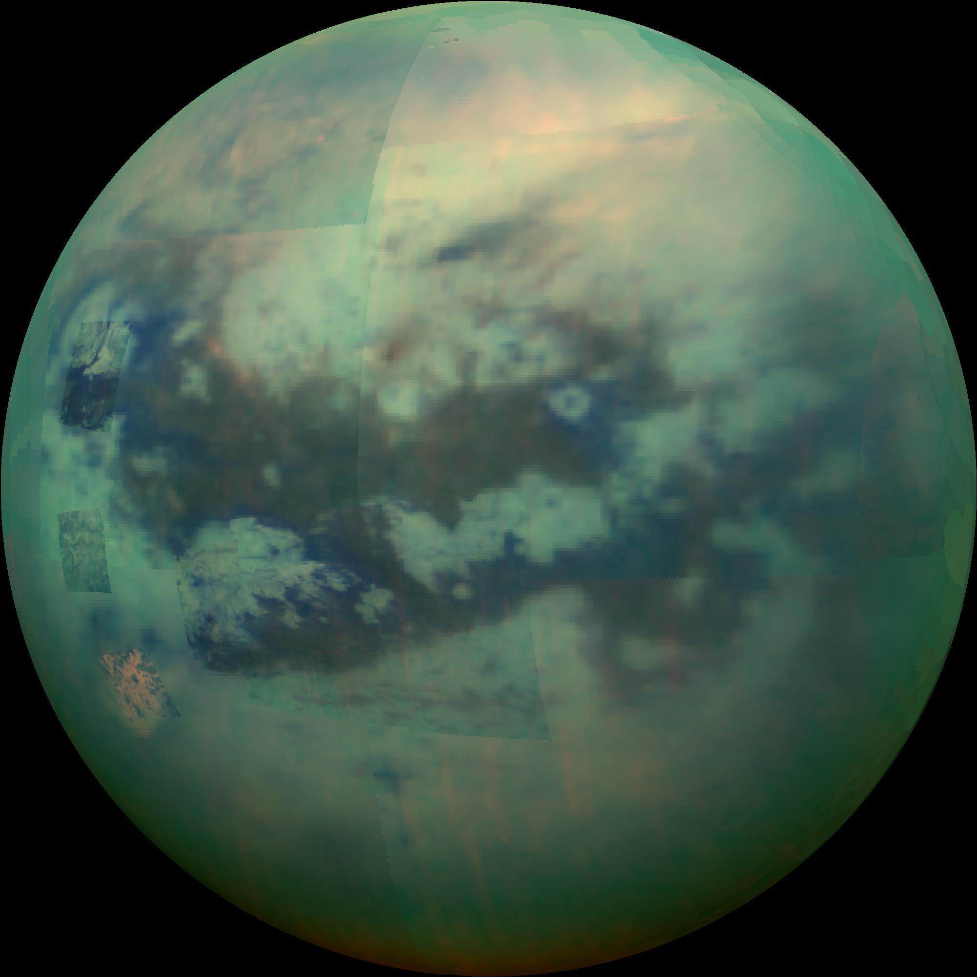 Метановые реки и ацетиленовые берега Титана