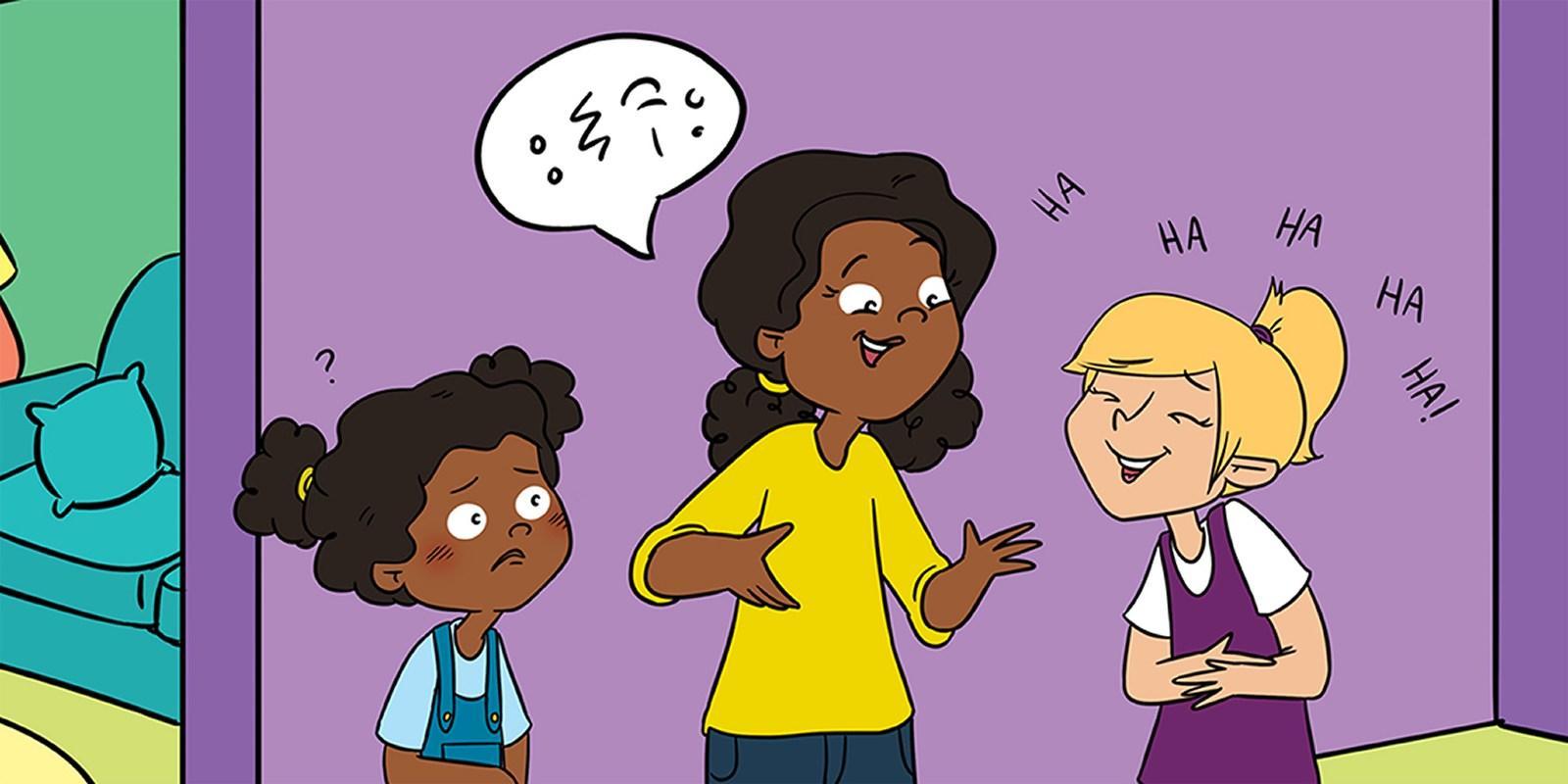Общее недоразвитие речи: детям о детях