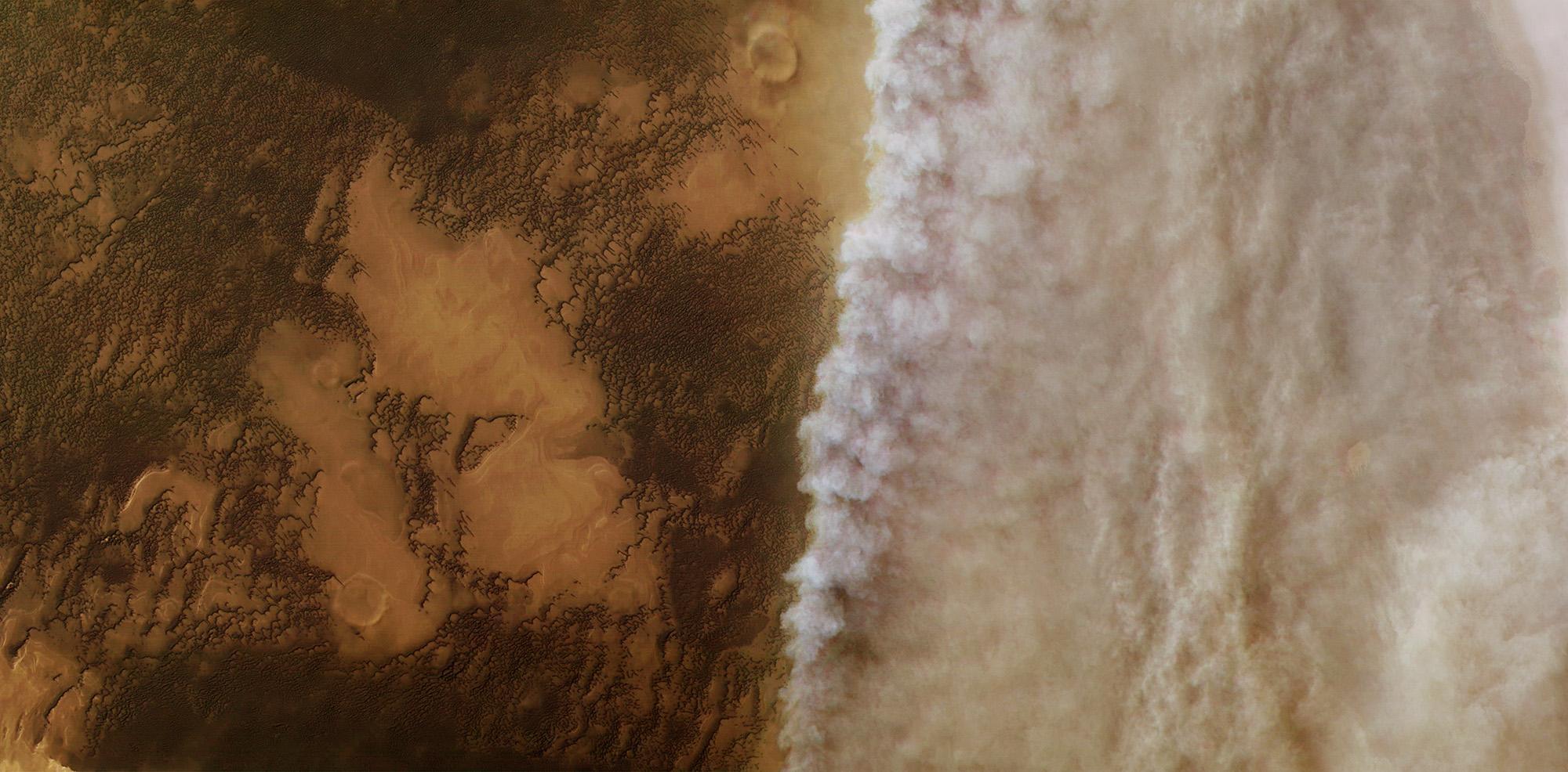 Куда пропадает марсианский метан?